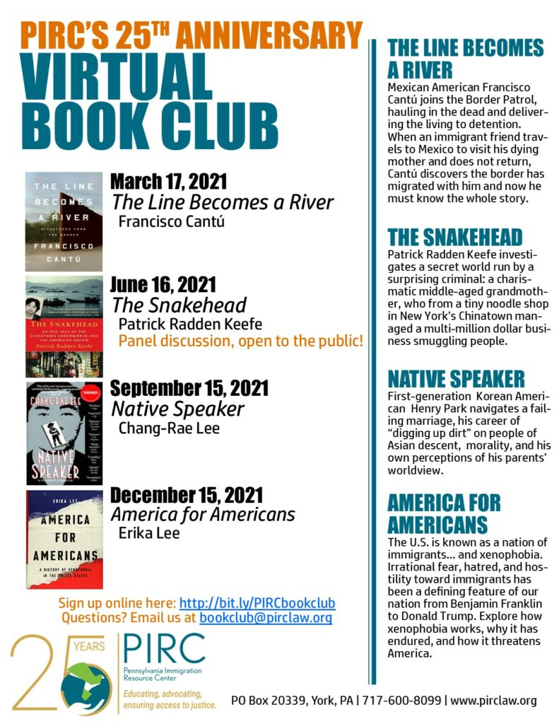 Virtual Book Club Flyer